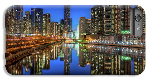Chicago River iPhone 8 Plus Case - Chicago River East by Steve Gadomski
