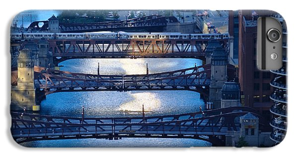 Chicago River iPhone 8 Plus Case - Chicago River First Light by Steve Gadomski