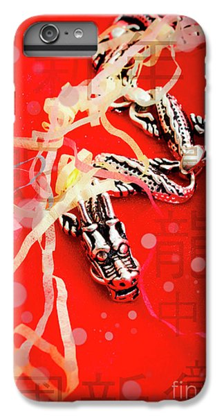 Dragon iPhone 8 Plus Case - Chinese New Year Background by Jorgo Photography - Wall Art Gallery
