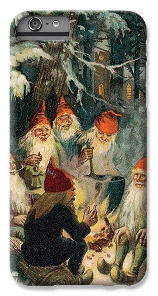 Elf iPhone 8 Plus Case - Christmas Gnomes by English School