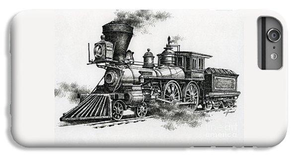 Train iPhone 8 Plus Case - Classic Steam by James Williamson