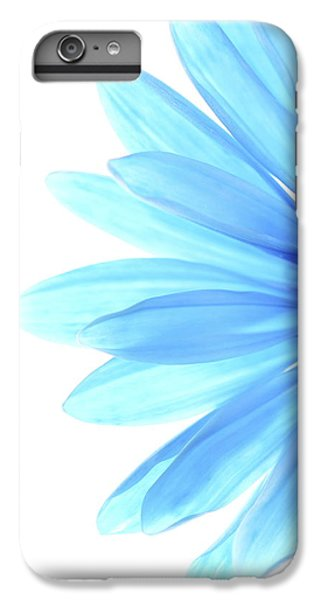 Flowers iPhone 8 Plus Case - Color Me Blue by Rebecca Cozart