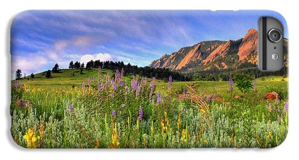 Landscapes iPhone 8 Plus Case - Colorado Wildflowers by Scott Mahon
