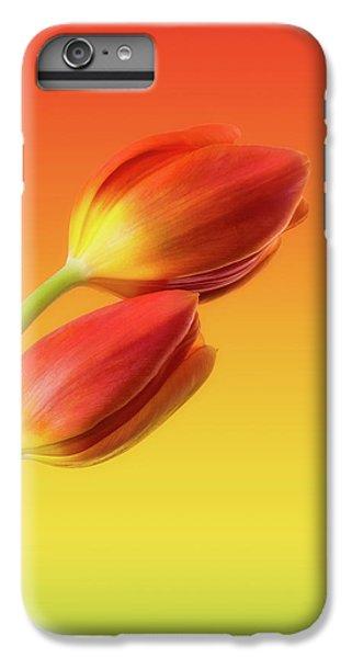 Tulip iPhone 8 Plus Case - Colorful Tulips by Wim Lanclus
