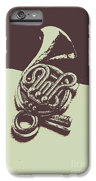 Trumpet iPhone 8 Plus Case - Concert Of A French Horn by Jorgo Photography - Wall Art Gallery