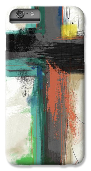 Cross iPhone 8 Plus Case - Contemporary Cross 2- Art By Linda Woods by Linda Woods
