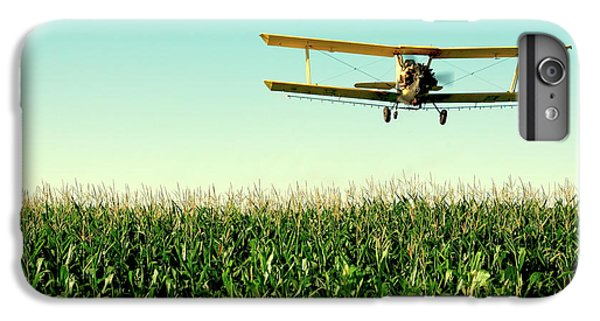 Airplane iPhone 8 Plus Case - Crops Dusted by Todd Klassy