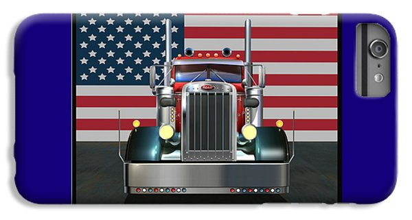 Truck iPhone 8 Plus Case - Custom Peterbilt 2 by Stuart Swartz