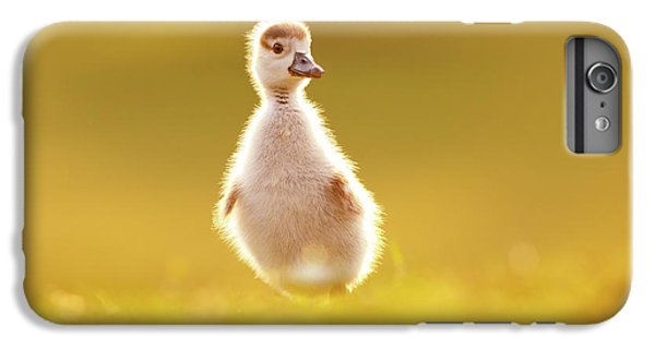 Gosling iPhone 8 Plus Case - Cute Overload - Baby Gosling by Roeselien Raimond