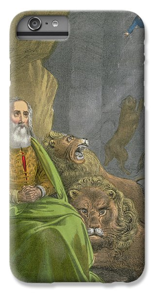 Dungeon iPhone 8 Plus Case - Daniel In The Lions' Den by Siegfried Detler Bendixen