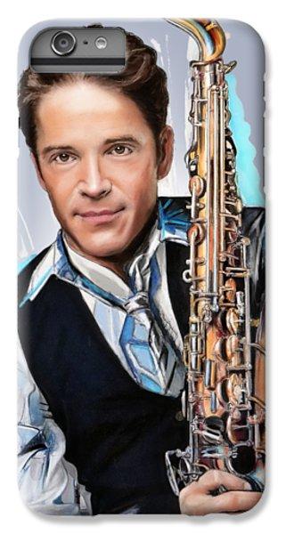 Saxophone iPhone 8 Plus Case - Dave Koz by Melanie D