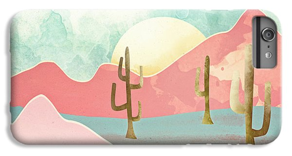 Landscapes iPhone 8 Plus Case - Desert Mountains by Spacefrog Designs