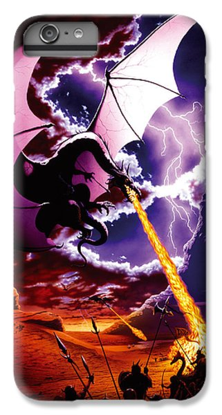 Fantasy iPhone 8 Plus Case - Dragon Attack by The Dragon Chronicles - Steve Re