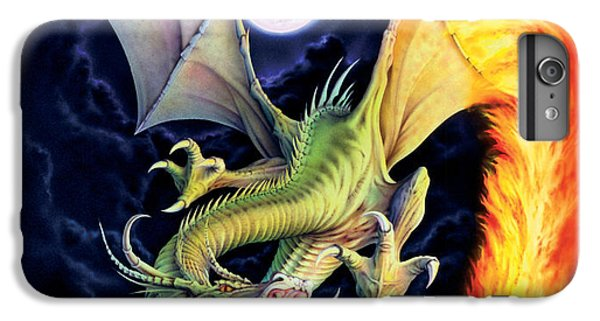 Fantasy iPhone 8 Plus Case - Dragon Fire by The Dragon Chronicles