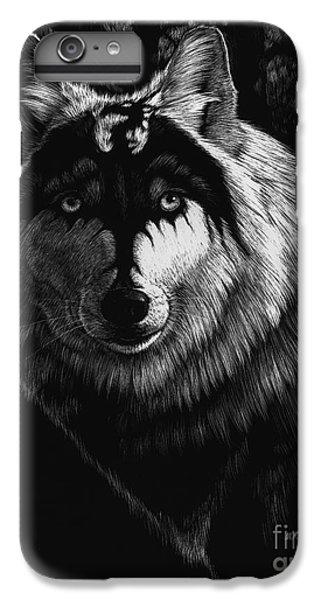 Dragon iPhone 8 Plus Case - Dragon Wolf by Stanley Morrison