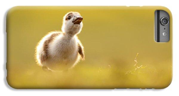 Gosling iPhone 8 Plus Case - Dream Duckie _egyptian Gosling by Roeselien Raimond