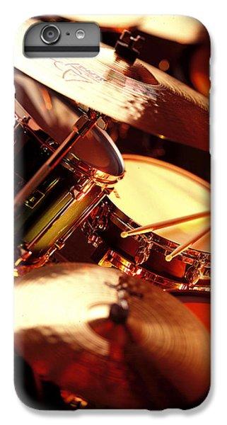 Drum iPhone 8 Plus Case - Drums by Robert Ponzoni