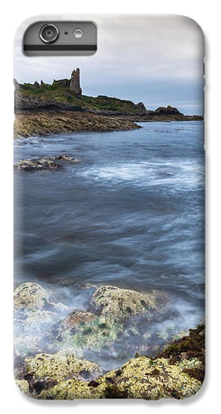 Castle iPhone 8 Plus Case - Dunure Castle Scotland  by Mark Mc neill