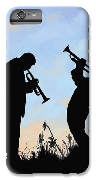 Trumpet iPhone 8 Plus Case - duo by Guido Borelli