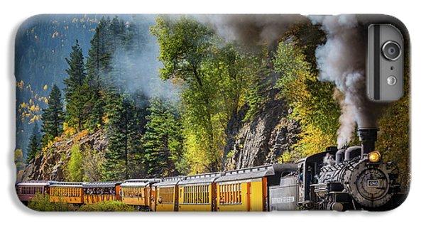 Train iPhone 8 Plus Case - Durango-silverton Narrow Gauge Railroad by Inge Johnsson