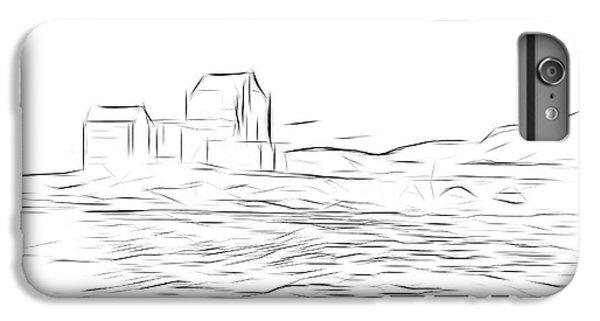 Castle iPhone 8 Plus Case - Eilean Donan Castle Digital Art by Smart Aviation