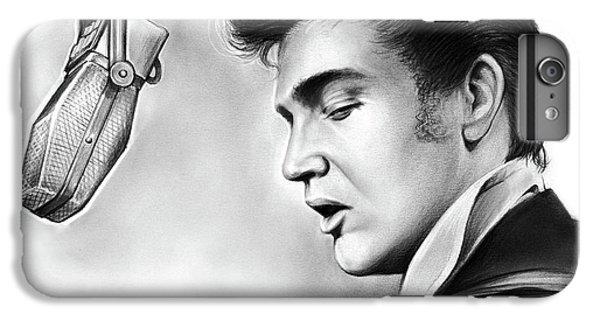 Rock And Roll iPhone 8 Plus Case - Elvis Presley by Greg Joens