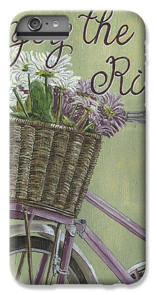 Bicycle iPhone 8 Plus Case - Enjoy The Ride by Debbie DeWitt