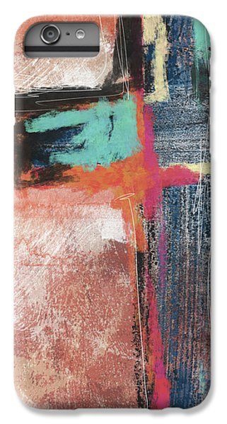 Cross iPhone 8 Plus Case - Expressionist Cross 5- Art By Linda Woods by Linda Woods