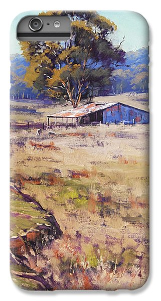 Rural Scenes iPhone 8 Plus Case - Farm Shed Pyramul by Graham Gercken