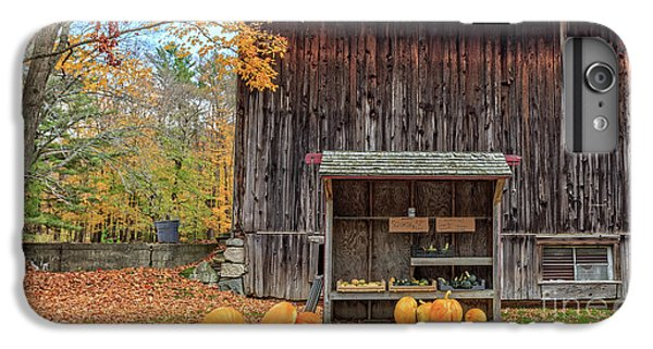 New England Barn iPhone 8 Plus Case - Farm Stand Etna New Hampshire by Edward Fielding