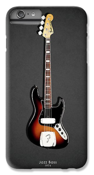 Guitar iPhone 8 Plus Case - Fender Jazzbass 74 by Mark Rogan