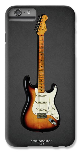 Guitar iPhone 8 Plus Case - Fender Stratocaster 54 by Mark Rogan