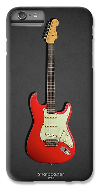 Guitar iPhone 8 Plus Case - Fender Stratocaster 63 by Mark Rogan