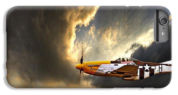 Airplane iPhone 8 Plus Case - Ferocious Frankie by Meirion Matthias