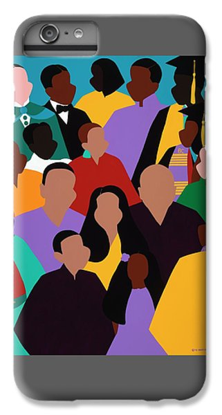 iPhone 8 Plus Case - From Our Founding To Our Future by Synthia SAINT JAMES