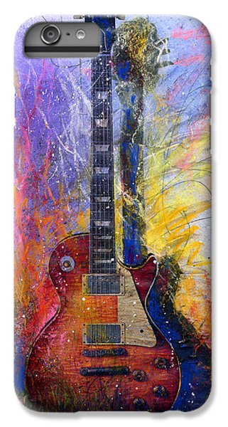 Guitar iPhone 8 Plus Case - Fun With Les by Andrew King