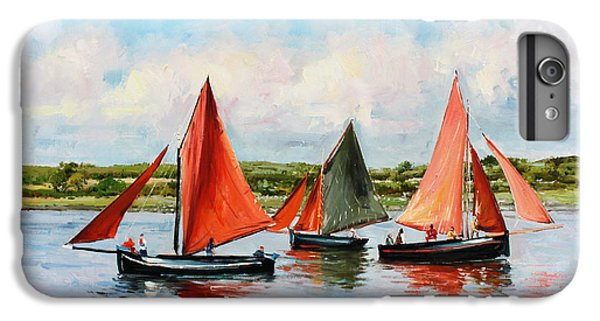 Boat iPhone 8 Plus Case - Galway Hookers by Conor McGuire