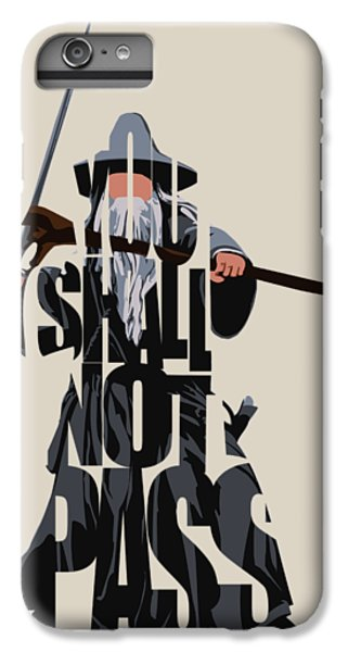 Lord iPhone 8 Plus Case - Gandalf - The Lord Of The Rings by Inspirowl Design
