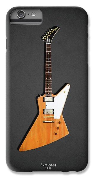 Guitar iPhone 8 Plus Case - Gibson Explorer 1958 by Mark Rogan