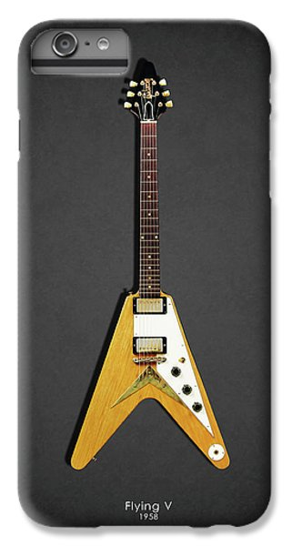 Guitar iPhone 8 Plus Case - Gibson Flying V by Mark Rogan