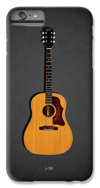 Jazz iPhone 8 Plus Case - Gibson J-50 1967 by Mark Rogan