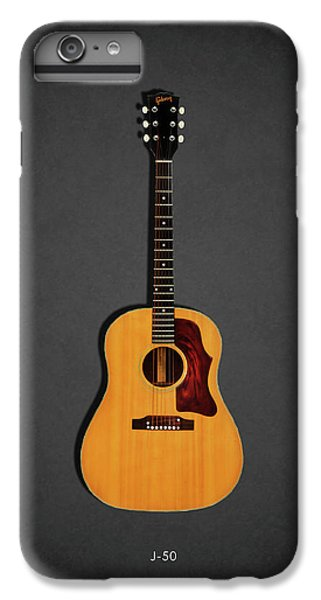 Rock And Roll iPhone 8 Plus Case - Gibson J-50 1967 by Mark Rogan