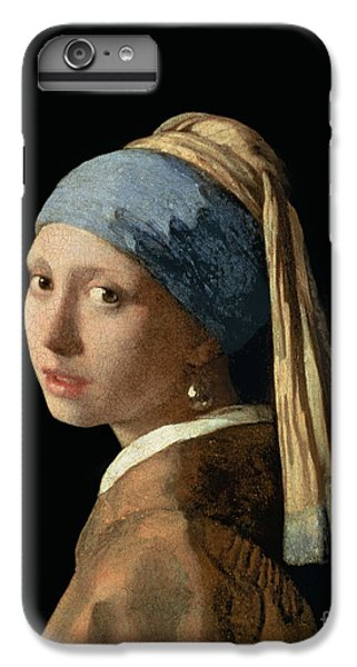 Portraits iPhone 8 Plus Case - Girl With A Pearl Earring by Jan Vermeer