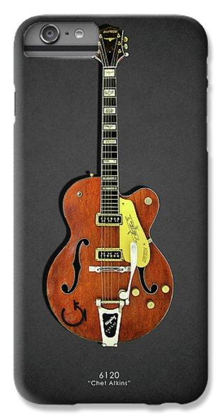 Guitar iPhone 8 Plus Case - Gretsch 6120 1956 by Mark Rogan
