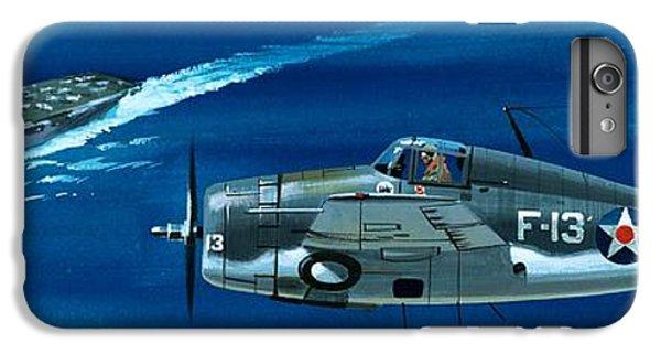 Airplane iPhone 8 Plus Case - Grumman F4rf-3 Wildcat by Wilf Hardy