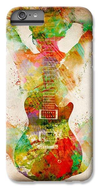 Guitar iPhone 8 Plus Case - Guitar Siren by Nikki Smith