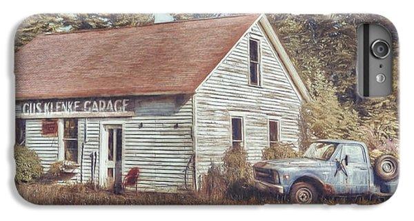 Truck iPhone 8 Plus Case - Gus Klenke Garage by Scott Norris