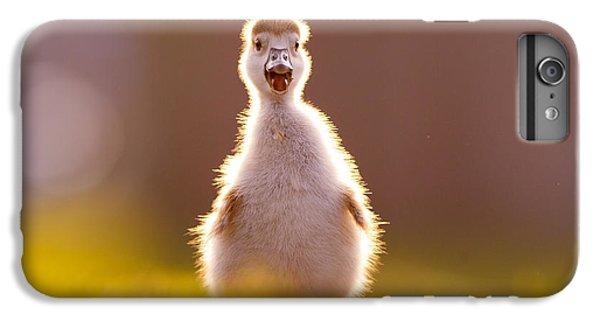 Gosling iPhone 8 Plus Case - Happy Easter - Cute Baby Gosling by Roeselien Raimond