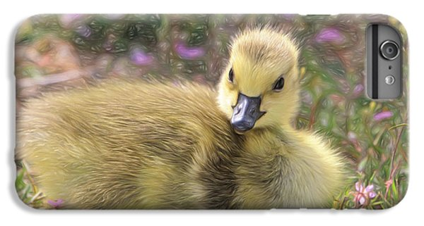 Gosling iPhone 8 Plus Case - Happy Easter To You by Donna Kennedy