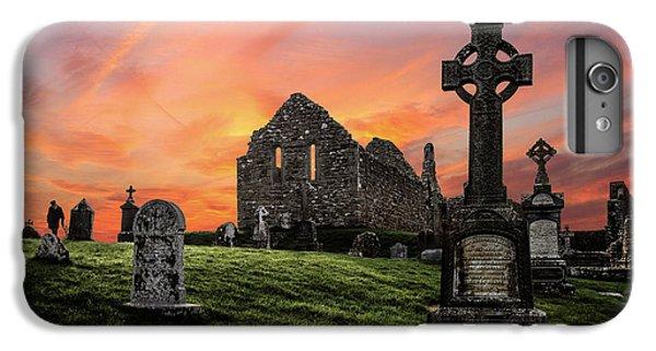 Celtic Cross iPhone 8 Plus Case - Heaven's Call by Evelina Kremsdorf